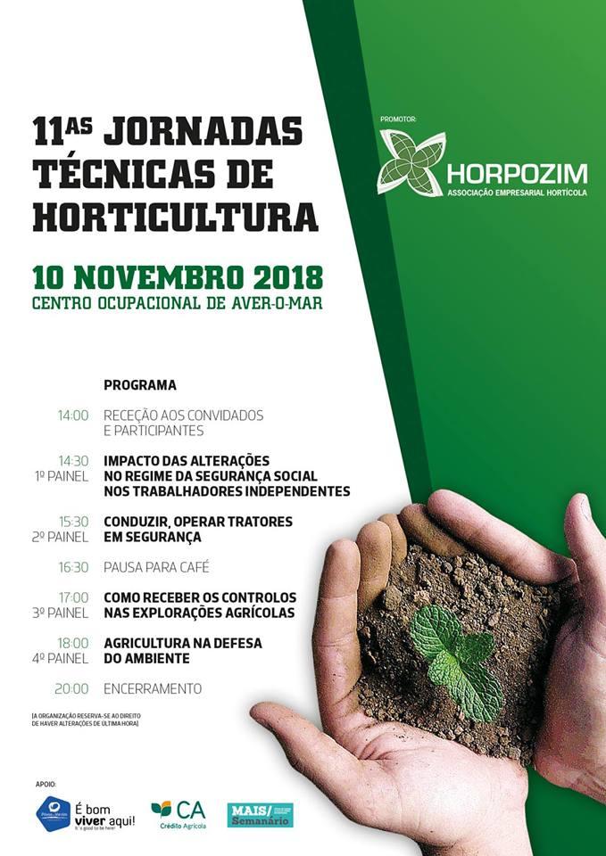 11as Jornadas Técnicas de Horticultura