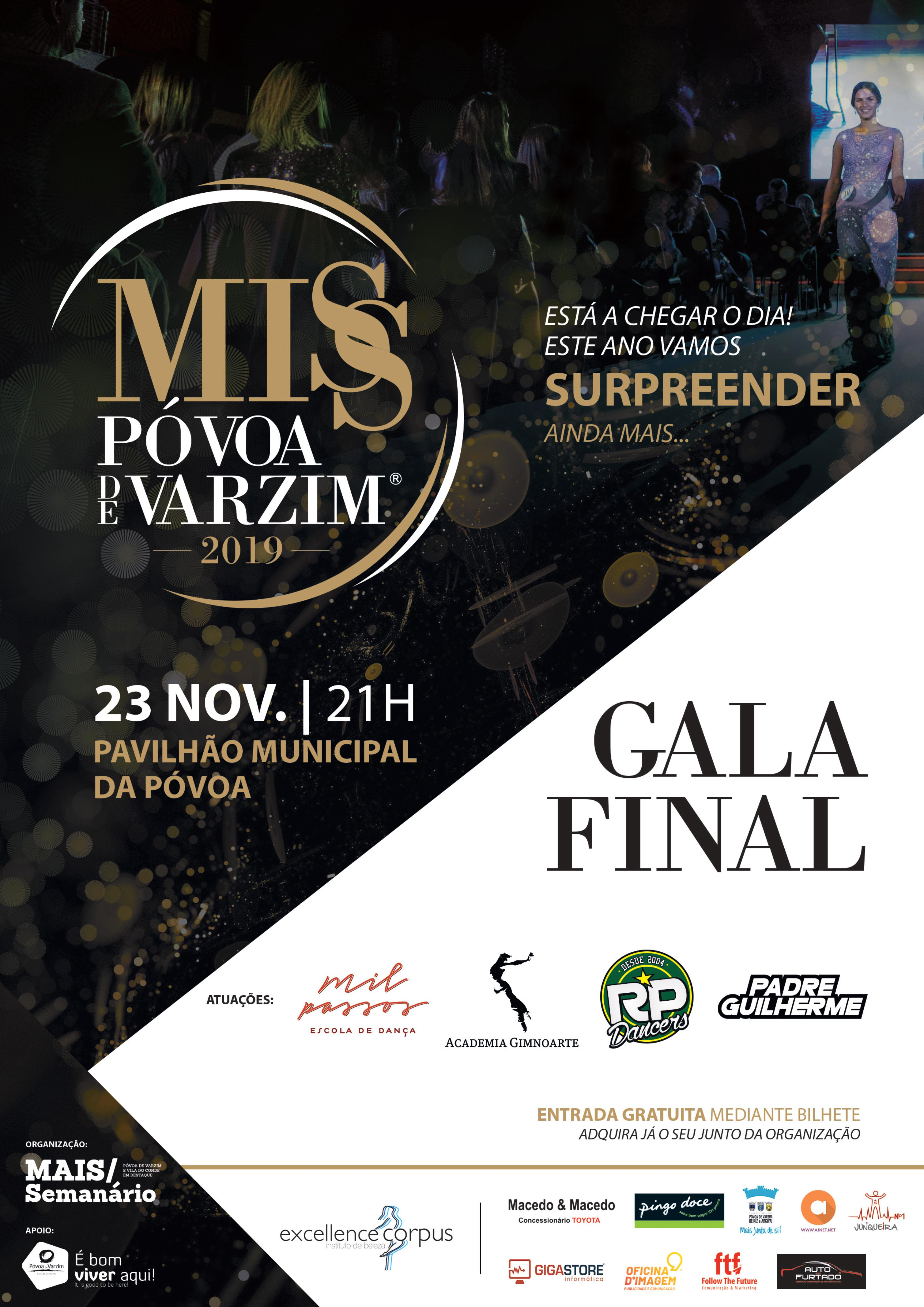 Gala Miss Póvoa de Varzim 2019