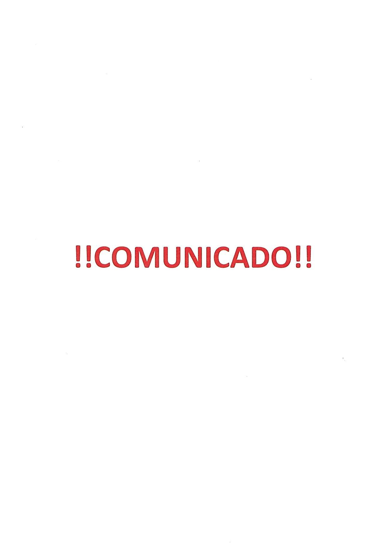 COMUNICADO – Atividades nos espaços sob jurisdição marítima